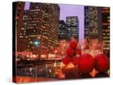 New York City at Christmas at Night  NY