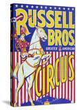 """""""Russell Bros--Greater American Circus""""  Circa 1940"""