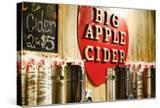 Big Apple Cider for Sale at the Christmas Market in Bryant Park