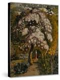 Apple Tree in Blossom In a Shoreham Garden  c1830