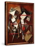 Feigned Letter Rack with Writing Implements  C1655
