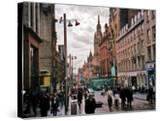 Travel Trip Glasgow Shopping