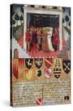 The Gift of the Ring  Wedding Scene Between Sienese Noble Families  1473