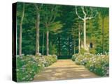 Hydrangeas on a Garden Path  1929