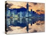 Skyline of Hong Kong Island