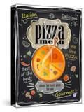 Vintage Chalk Pizza Menu