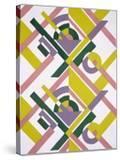 Design from 'Nouvelles Compositions Decoratives'  Late 1920S (Pochoir Print)