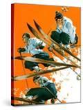 """""""Ski Jumpers """"February 26  1938"""