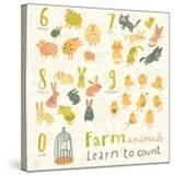 Farm Animals Learn to Count Part One 6 Sheep  7 Cats  8 Rabbits  9 Chickens  0 Birds Funny Carto
