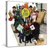 """Bus Stop at Christmas""  December 13  1952"