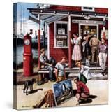 """""""Coastal Postal Office""""  August 26  1950"""