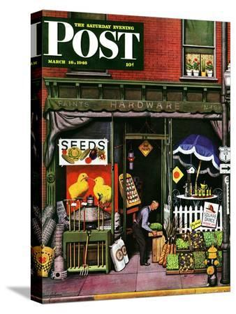 stevan-dohanos-hardware-store-at-springtime-saturday-evening-post-cover-march-16-1946
