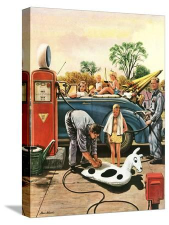 stevan-dohanos-inflating-beach-toy-august-20-1949