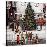 """Tree in Town Square "" December 4  1948"