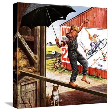 stevan-dohanos-walking-the-tightrope-june-11-1949