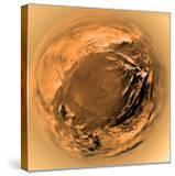 Fish-Eye View of Titan's Surface