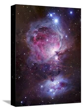 stocktrek-images-m42-the-orion-nebula-top-and-ngc-1977-a-reflection-nebula-bottom