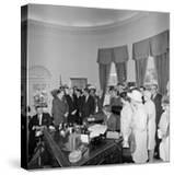 President John F Kennedy Signing the Equal Pay Act