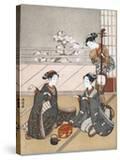 Girls Playing the Game of Ken  C1745-1770