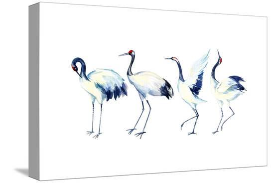 tanycya-watercolor-asian-crane-bird-set