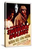 The Adventures of Sherlock Holmes - Movie Poster Reproduction
