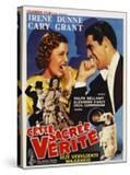 The Awful Truth  Belgian Movie Poster  1937