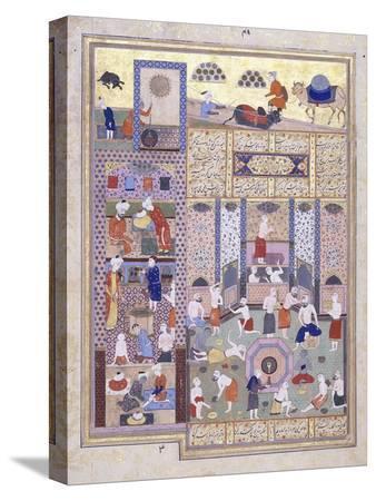 the-caliph-harun-al-rashid-at-the-baths-c-1584-5-gouache-with-gold-paint-on-paper