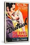 THE DEVIL IS A WOMAN  from left: Cesar Romero  Marlene Dietrich  1935