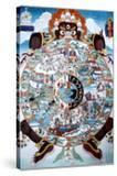 The Wheel of Life  Tibet  19th-20th Century