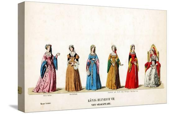 theatre-costume-designs-for-shakespeare-s-play-henry-viii-19th-century
