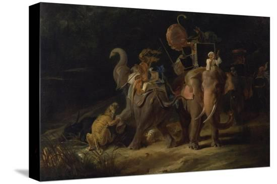 thomas-daniell-tiger-hunting-in-the-east-indies-1798