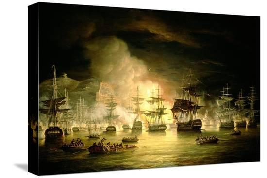 thomas-luny-bombardment-of-algiers-august-1816-1820