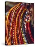 Kenya  Samburu Woman Wearing Decorative Beads