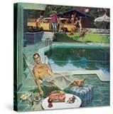 """""""Unwelcome Pool Guests """" July 22  1961"""