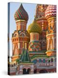 Walls and Domes of St Basils Cathedral (Pokrovsky Cathedral) in Red Square