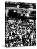 Trading Floor of the New York Stock Exchange on August 16  1971