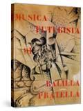 Design for the Cover of 'Musica Futurista' by Francesco Balilla Pratella (1880-1955)  1912