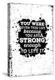 Motivational Quote Poster Grunge Background