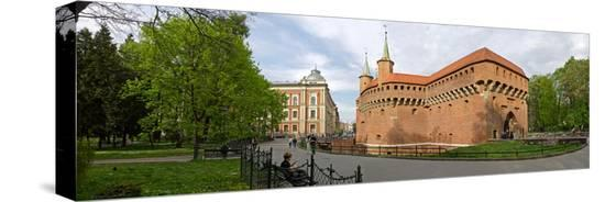 view-of-krakow-barbican-krakow-poland