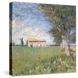 Farmhouse in a Wheat Field