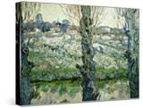 Orchard in Blossom with a View of Arles  1889