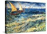 Seascape at Saintes-Maries  c1888