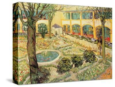 Superb Vincent Van Gogh The Asylum Garden At Arles