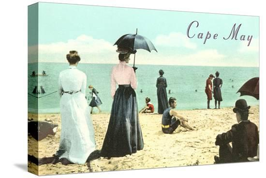 vintage-beach-scene-cape-may-new-jersey
