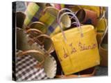 Reunion-made handbags  Seafront Market  St-Paul  Reunion Island  France