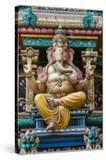 Singapore  Chinatown  Sri Mariamman Hindu Temple  Detail of Hindu Deity  Ganesh
