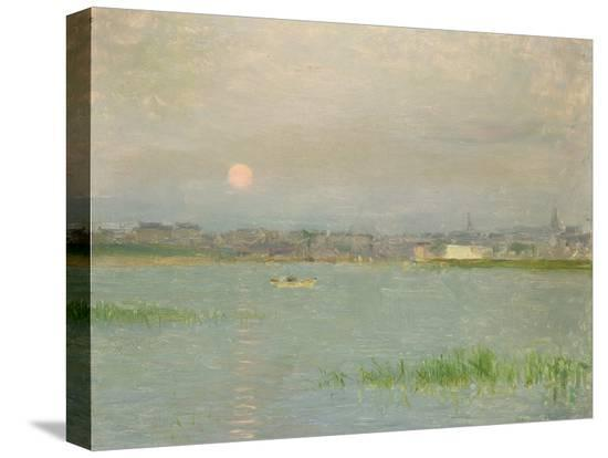 walter-frederick-osborne-rising-moon-galway-harbour