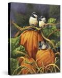 Chickadees and Pumpkins