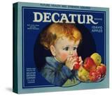Warshaw Collection of Business Americana Food; Fruit Crate Labels  Dacatur Orchard Company