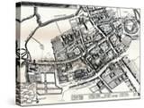 Hollars Plan of Oxford  C1643